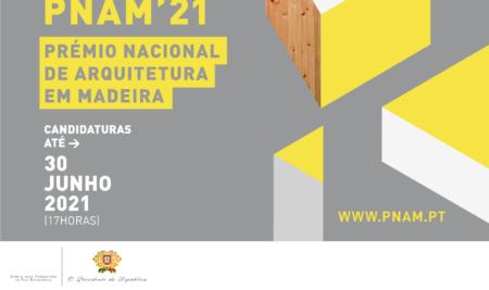 Prémio Nacional de Arquitetura em Madeira ' 21